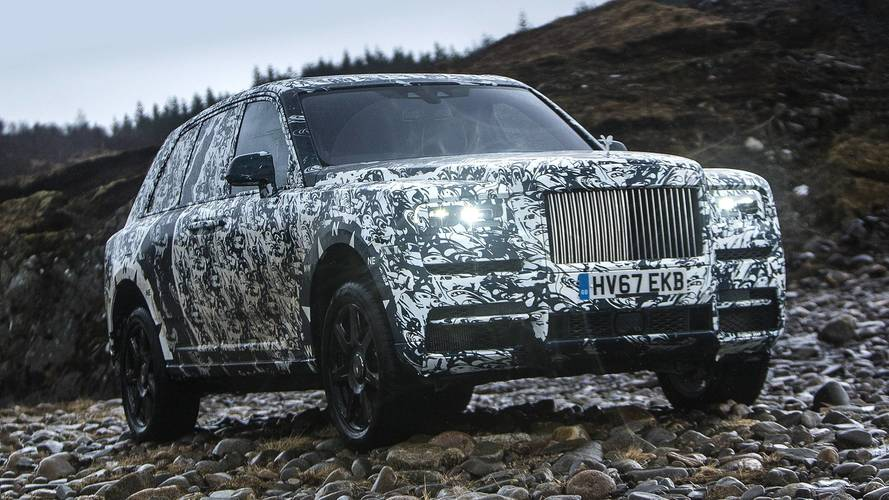 Rolls-Royce Teams With National Geographic For Final Cullinan Testing