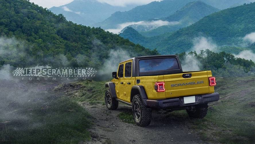 2020 Jeep Scrambler Rendering