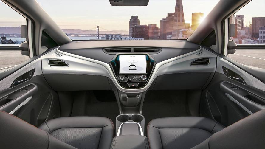 GM reveals auto without steering wheel or pedals