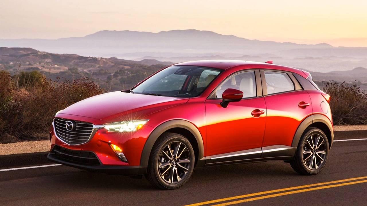10- Mazda CX-3