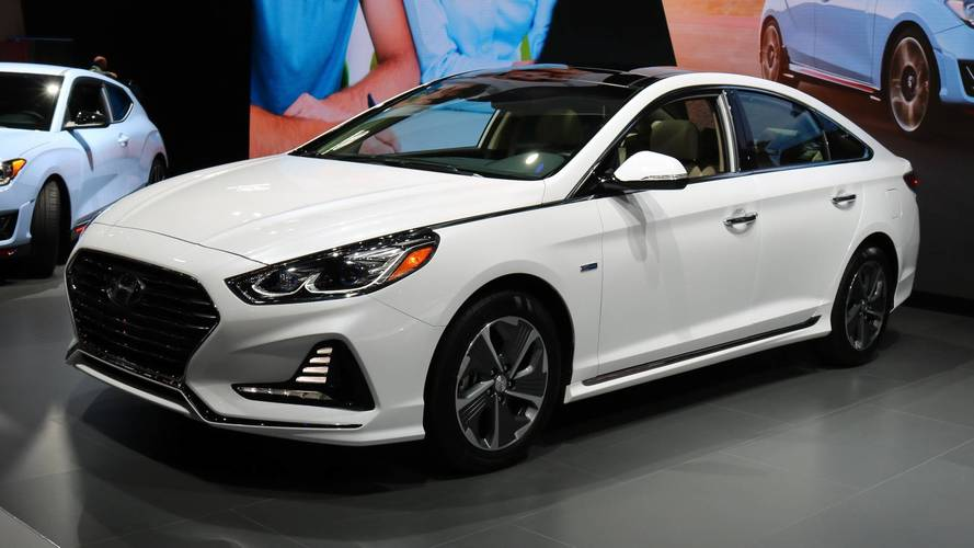 2018 Hyundai Sonata Hybrid And PHEV Arrive In Chicago