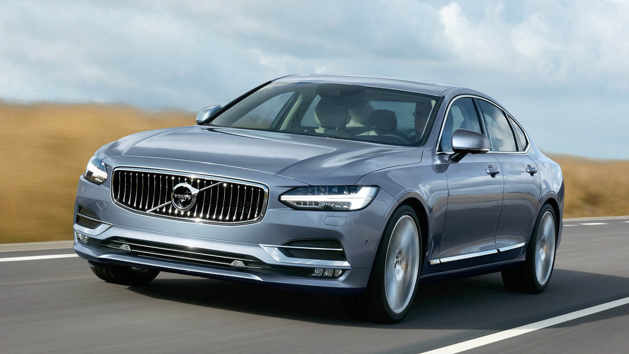 Volvo S90: 4,96 Meter
