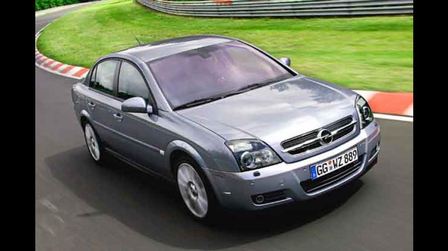Opel: Vectra und Signum jetzt mit High-Tech-Fahrwerk