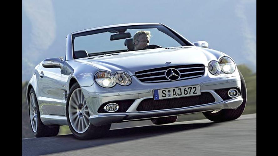 Mercedes SL 55 AMG und SL 65 AMG: Stark-Duo für Genf