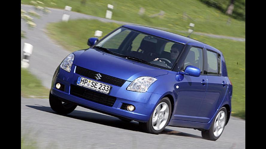 Suzuki Swift 4x4: Kleinwagen jetzt auch mit Allradantrieb