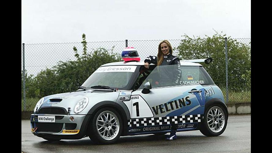 Mini: Cora Schumacher startet in der Mini-Challenge