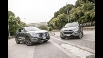 Hyundai Santa Fe e ix35 Experience