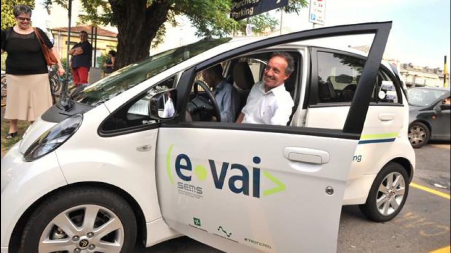 Car sharing: inaugurato un nuovo e-vai point