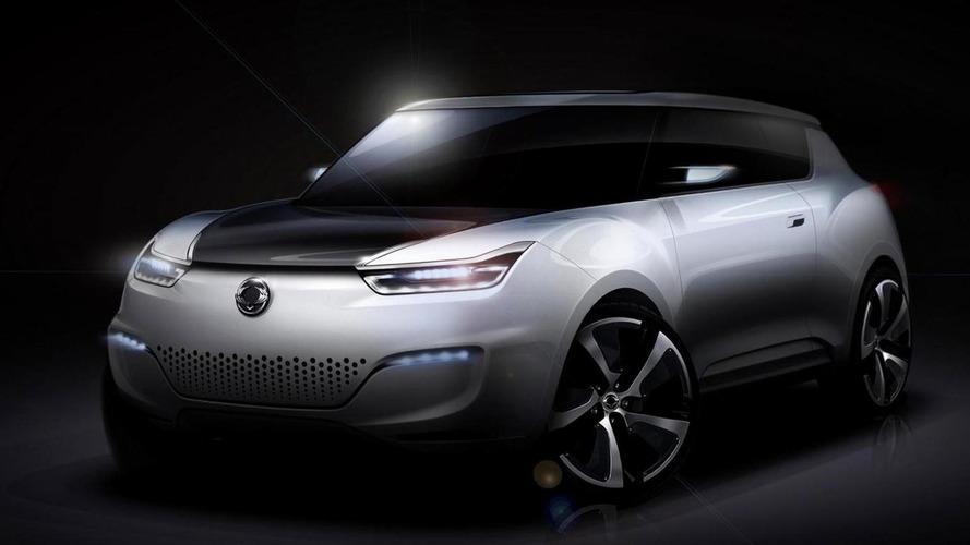 SsangYong e-XIV concept revealed