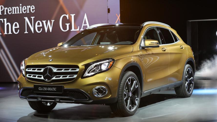 Mercedes GLA yeni tasarım ve kabine kavuştu