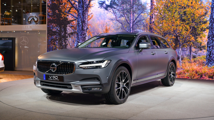 Los Angeles 2016 - La Volvo V90 Cross Country fait son show