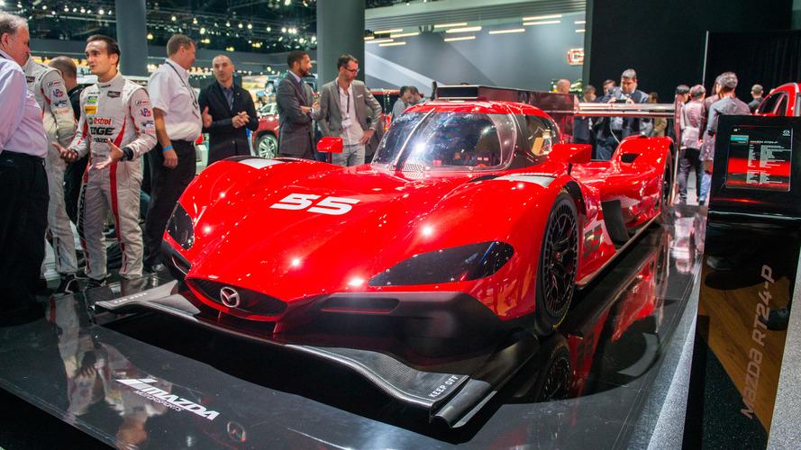 Mazda dévoile son prototype RT24-P pour le championnat IMSA