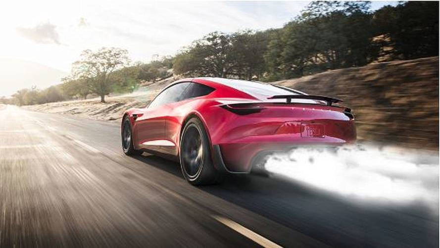 Tesla Roadster With SpaceX-Inspired Boosters Comes To Life