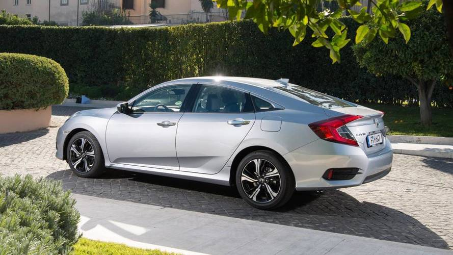 Honda Civic saloon is coming to the UK