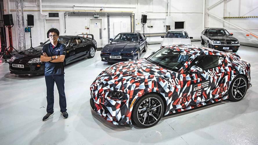 Toyota reúne as cinco gerações do Supra pela primeira vez