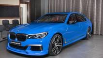 BMW M760Li Santorini Blue
