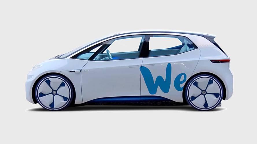 Volkswagen We, il nuovo car sharing elettrico