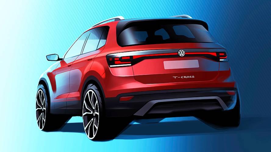 Volkswagen T-Cross, il bozzetto ufficiale