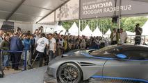 Aston Martin Vulcan live at Goodwood