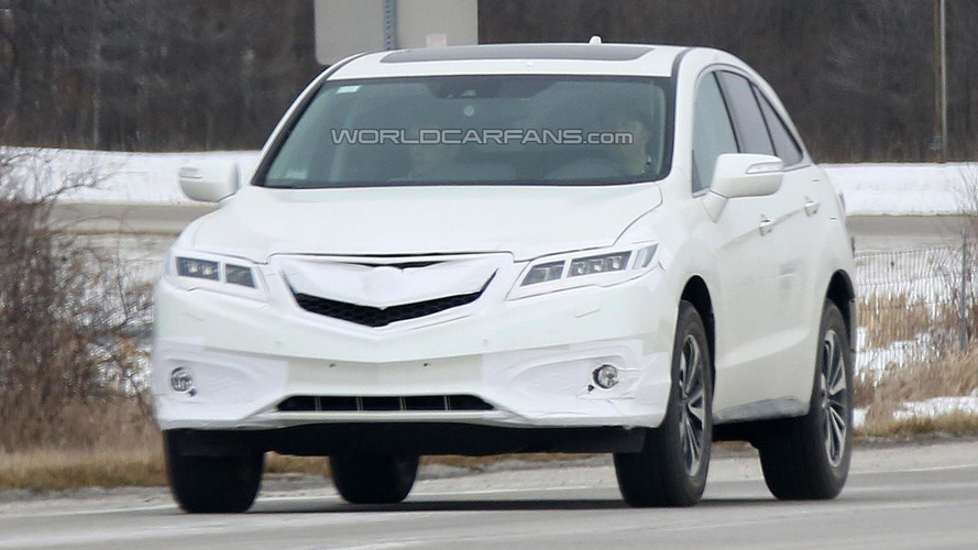 Acura RDX facelift spied with minor changes ahead of this week's reveal