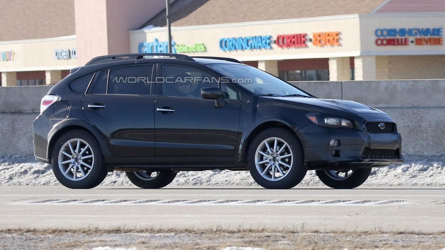 Mysterious Subaru prototype spied, is it a mule for the next Impreza?