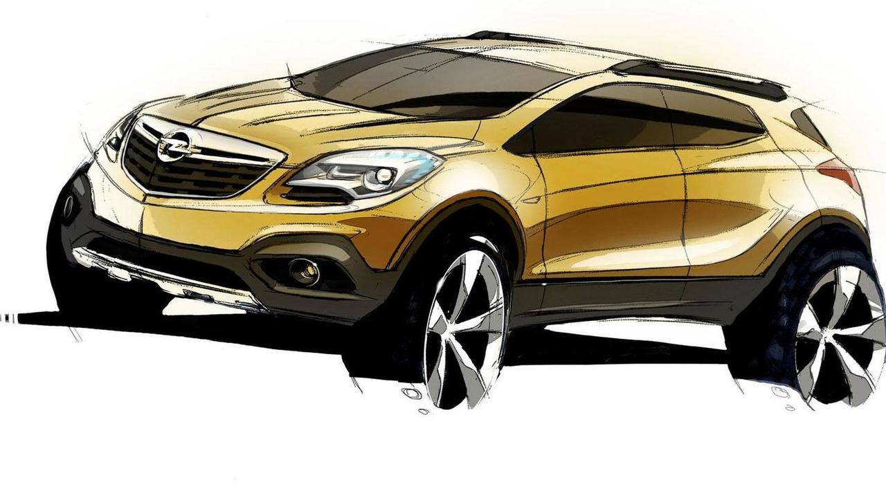 Opel Mokka design sketch