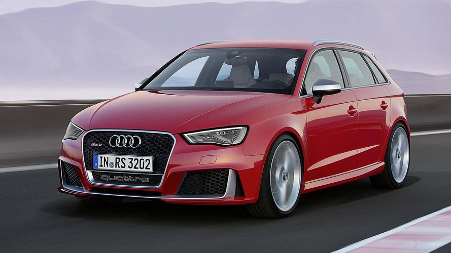 Audi RS3 Sportback revealed with 367 PS