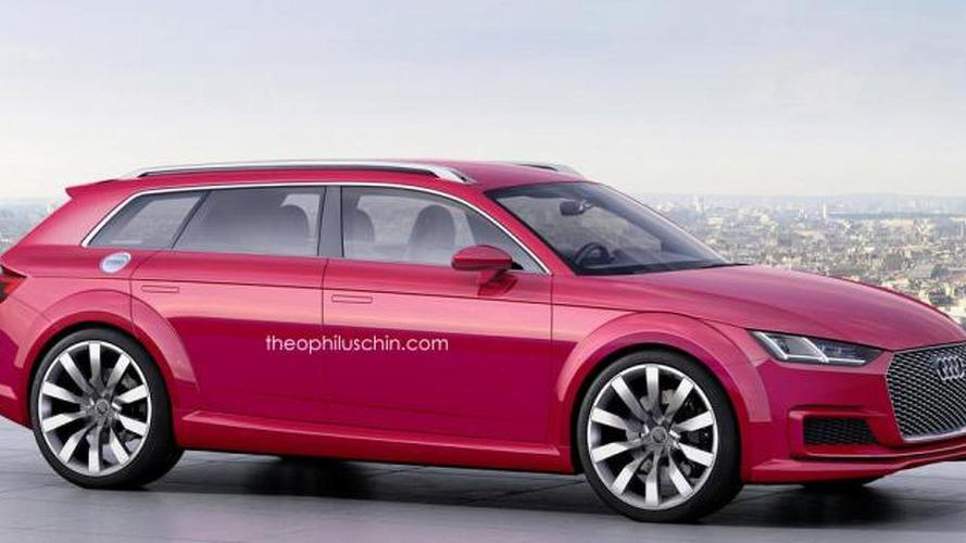 Audi TT Avant concept render should happen