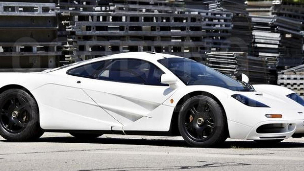 McLaren F1 with Marlboro White paint