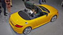 Audi TTS Roadster live from Volkswagen's Paris Motor Show preview evening