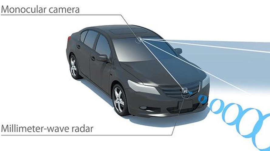 Honda introduces their Sensing driver-assistive system
