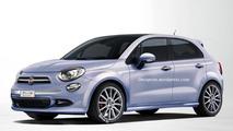 Fiat 500 Plus render