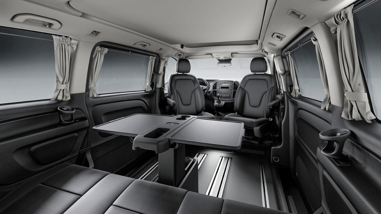 2015 mercedes marco polo activity unveiled based on the vito. Black Bedroom Furniture Sets. Home Design Ideas