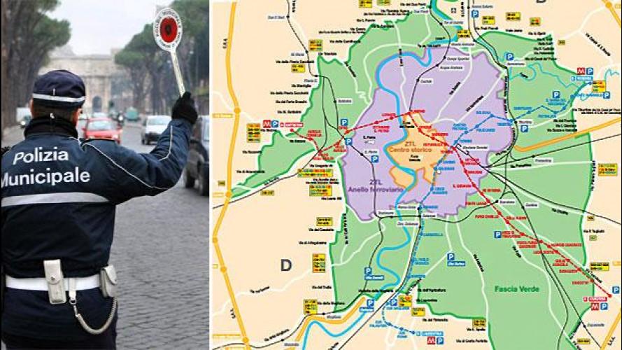 Roma, targhe alterne il 17 e 18 dicembre