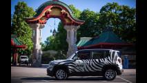 Jeep Renegade zebrata per la Champions League