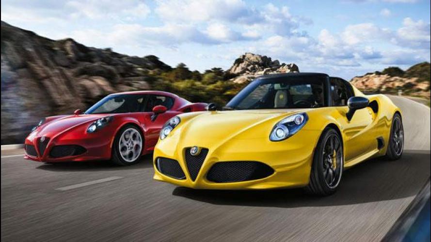 Alfa Romeo 4C, meglio berlinetta o Spider?