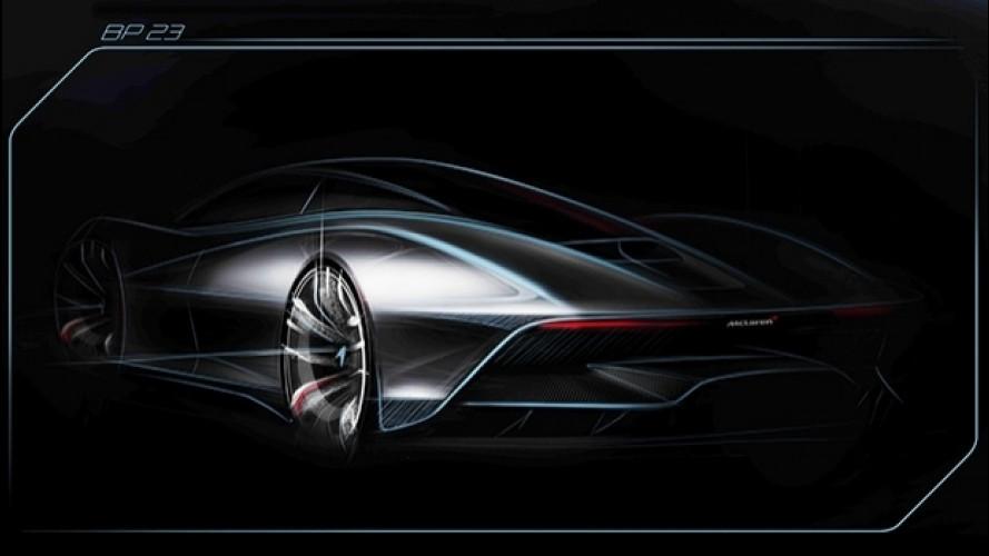 McLaren BP23, l'Hyper-GT mostra le sue forme
