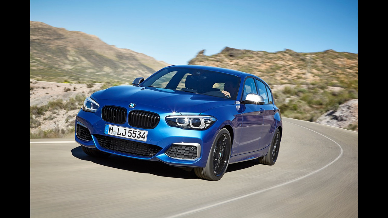 BMW Serie 1 restyling 2017