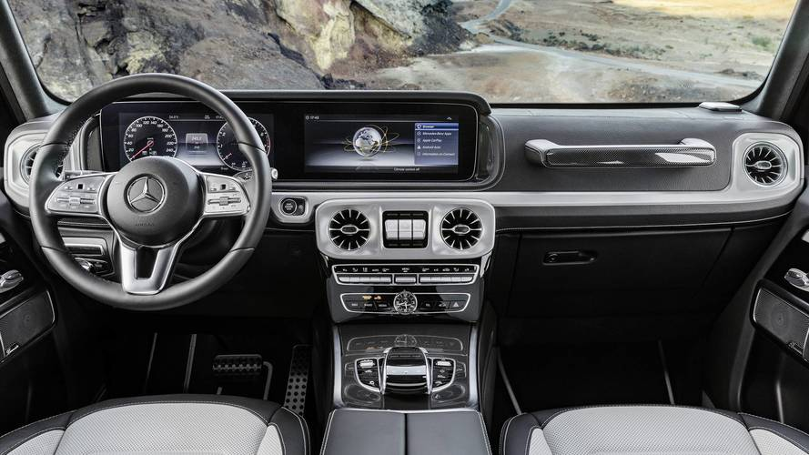 2019 Mercedes G-Class Interior Revealed: More Space, More Luxury