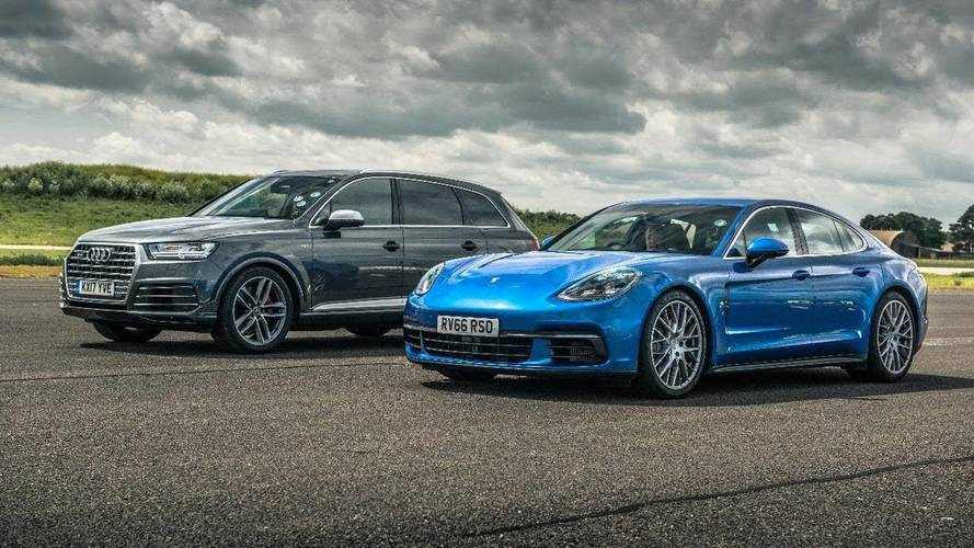 Duelo diésel: Audi SQ7 vs. Porsche Panamera 4S Diesel