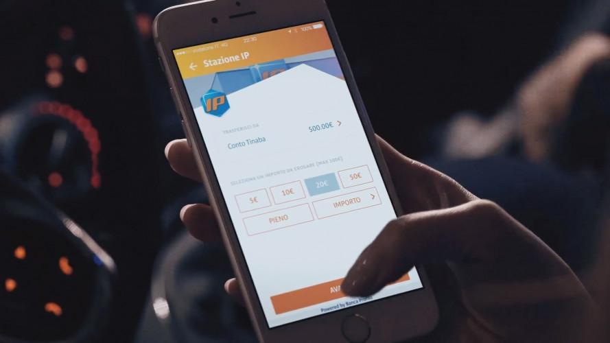 IP, il carburante si paga con l'app Tinaba