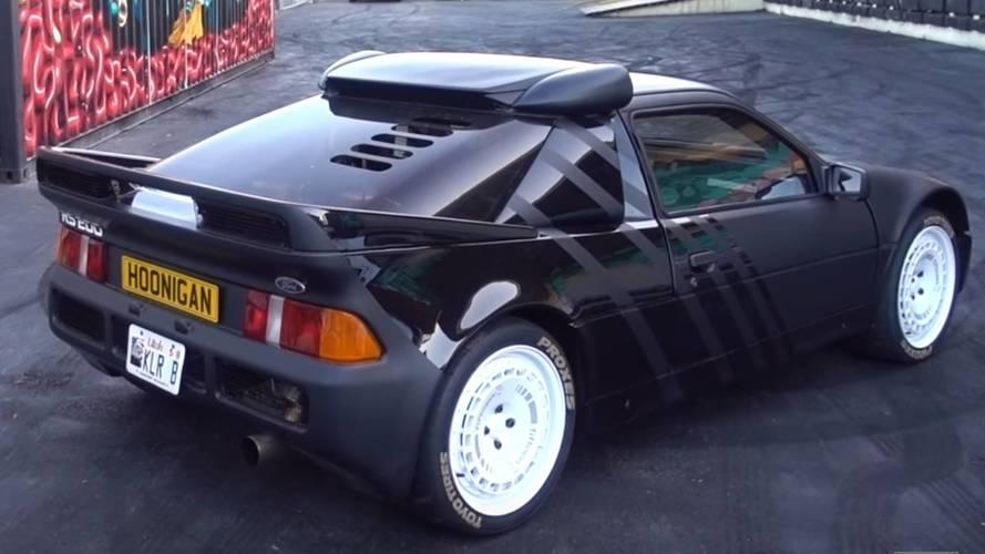 Ken Block garajına bir Ford RS200 ekledi