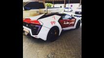 Lykan Hypersport, polizia di Abu Dhabi