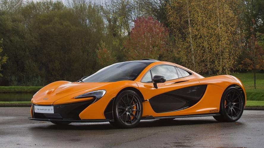 Rare McLaren P1 Experimental Prototype Up For Grabs