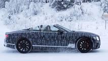 2019 Bentley Continental GTC spy photo
