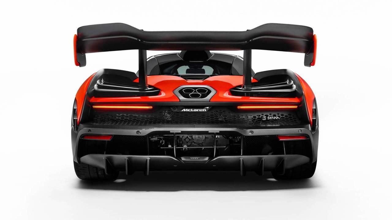 2018 McLaren Senna - Le diffuseur