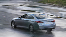 Undisguised 2014 Hyundai Genesis returns in high-res spy photos