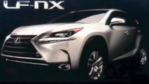 Possible Lexus LF-NX production version shown during presentation [video]