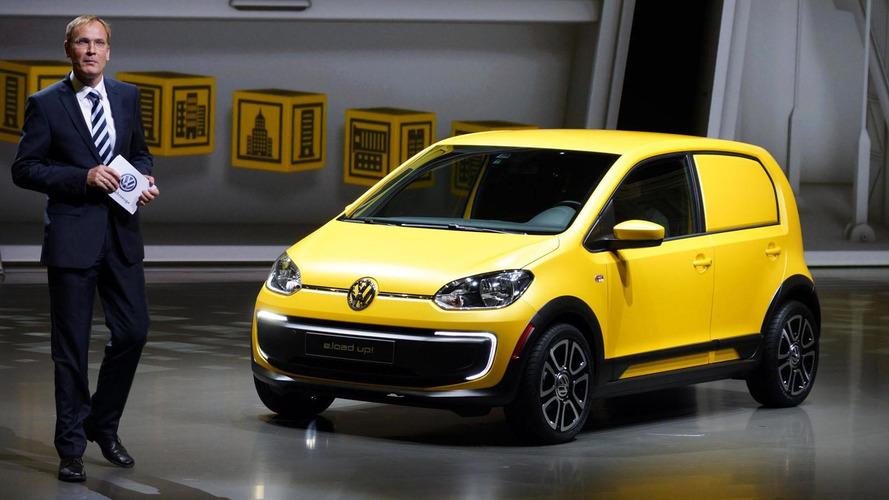 Volkswagen e-load up! concept bows in Frankfurt