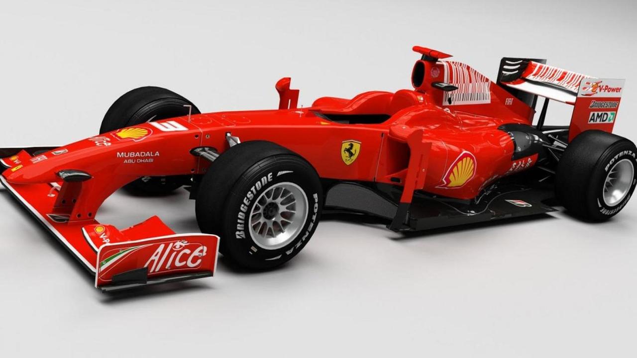 Ferrari 2014 F166 Turbo speculative artist rendering